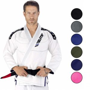 Elite Sports Ibjjf Ultra-light Bjj Brazilian Jiu-jitsu Gi W/Preshrunk Fabric & Free Belt