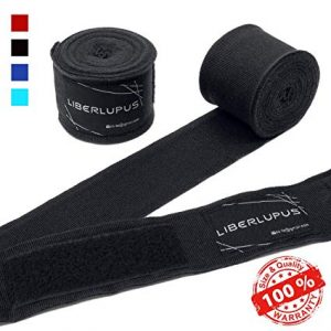 Liberlupus Elastic Professional 120 &180 Inches Boxing Hand Wraps For Men & Women
