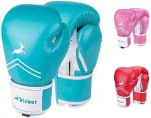 Trideer Pro Grade Boxing Gloves For Men & Women